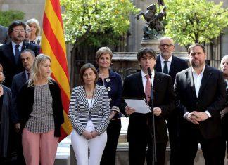 La Fiscalía de Cataluña contra la Mesa del Parlament