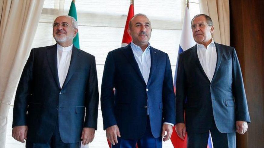 Rusia, Irán y Turquía critican los ataques aéreos contra Siria