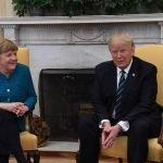 Trump y Merkel se encuentran de nuevo y las relaciones siguen siendo frías