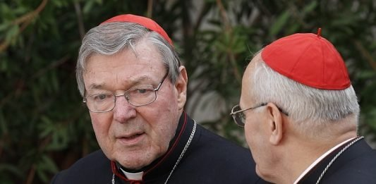 Cardenal George Pell. Créditos: Catholic News Service