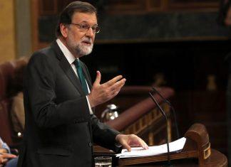 Congreso debate la moción de censura a Rajoy