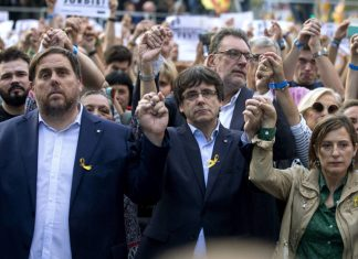 2 millones de Euros, Juez Pablo Llanera da plazo de 2 dias a exconsellers para pagar fianza