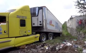 Aterrador: al menos 300 cadáveres abandonados en 2 camiones por autoridades Mexicanas