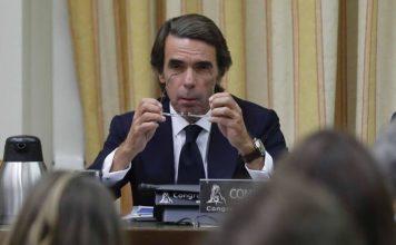 """Aznar negó existencia de caja """"B"""" en el PP"""