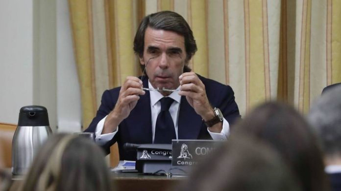 Aznar negó existencia de caja