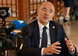 El comisario europeo de Asuntos Financieros, Pierre Moscovici