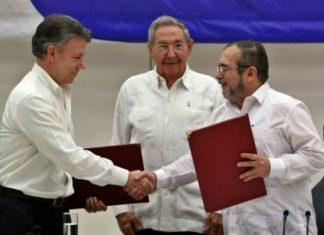 Acuerdo de paz entre las FARC y Gobierno Colombiano arribo a 2 años