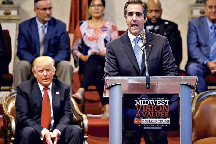 El exabogado de Donald Trump Michael Cohen se declara culpable de mentir al congreso