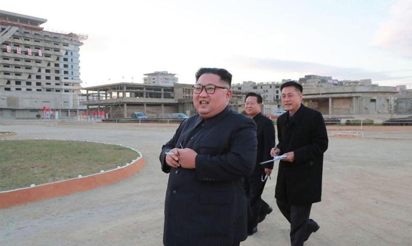 El presidente norcoreano, Kim Jong Un