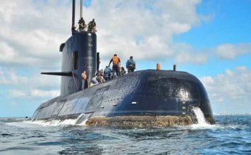 Hallan submarino argentino