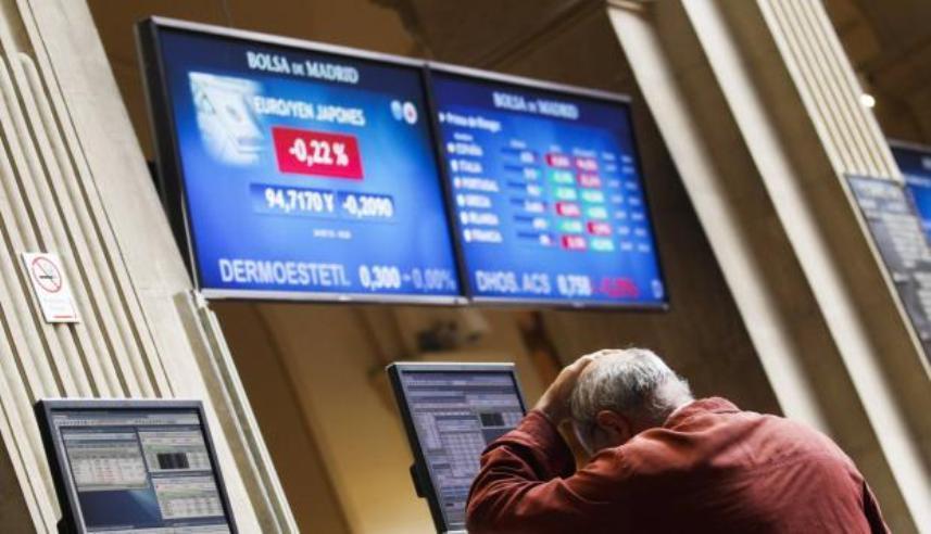 Las bolsas europeas caen