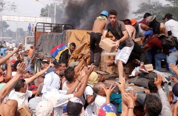 Unos cinco muertos tras ayuda humanitaria