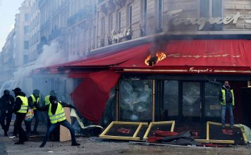 Francia prohibirá manifestaciones de chalecos amarillos