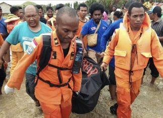Inundaciones y deslaves en Indonesia
