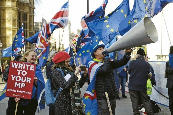 Los posibles escenarios del brexit