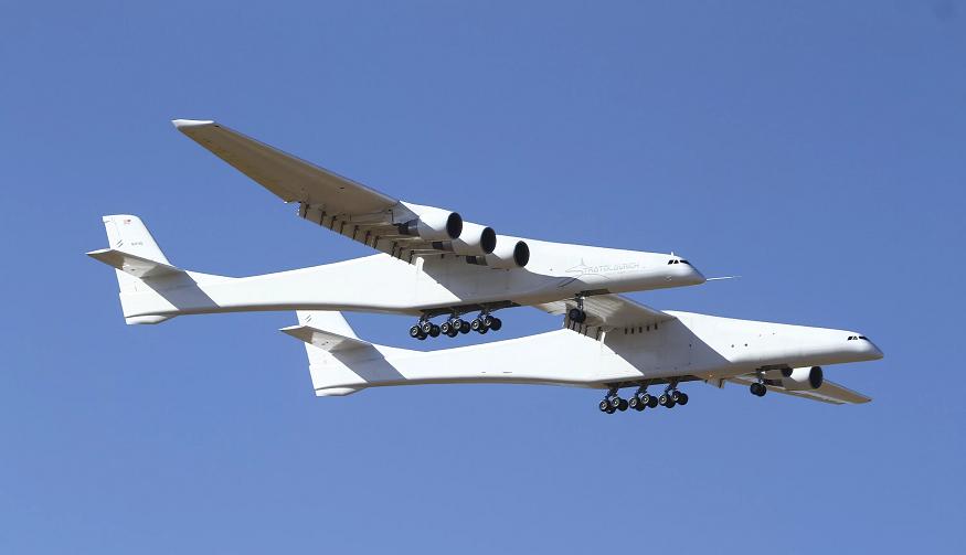 Las alas del avión miden 117 metros. | AP