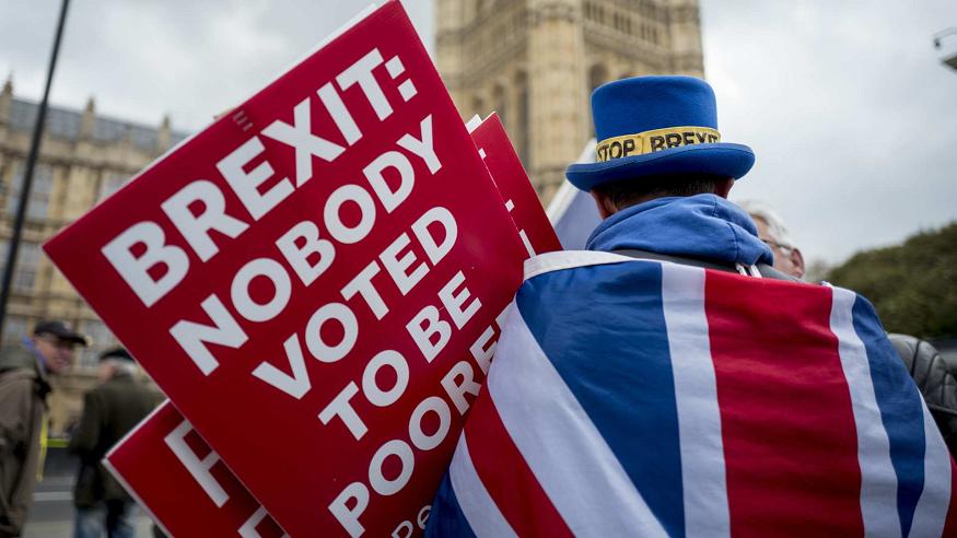 """El sector empresarial británico exige poner fin al """"caos"""" del 'brexit'"""
