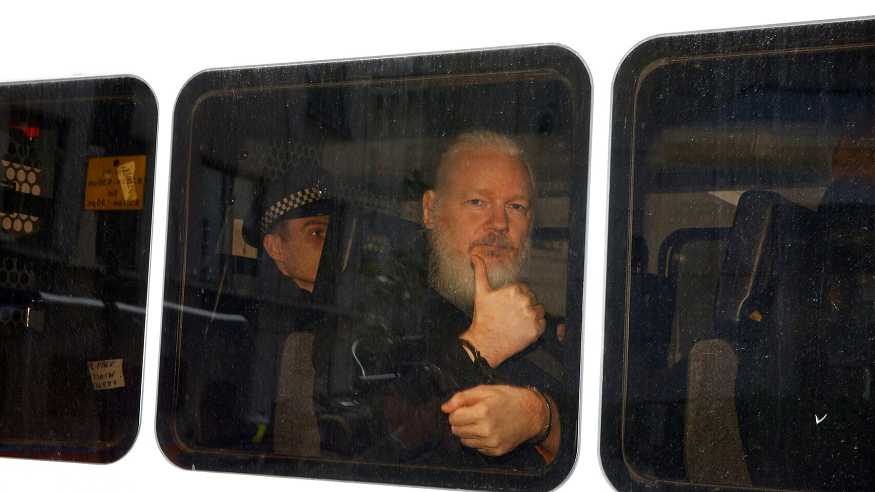 "Presidente Moreno: ""Assange intentó usar la embajada en Londres como centro de espionaje"""