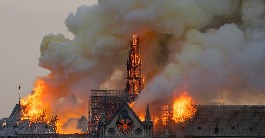 Esto fue lo que se salvó y lo que se perdió en el incendio de la catedral de Notre Dame de París