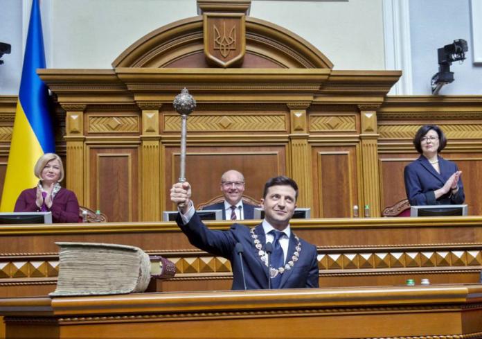 Nuevo presidente de Ucrania