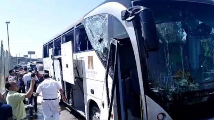 Explosión deja al menos 17 turistas heridos en El Cairo