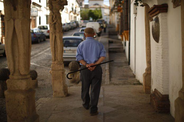 Pensión en España