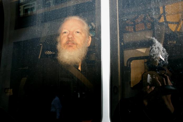 EEUU pide formalmente a Reino Unido la extradición de Julian Assange
