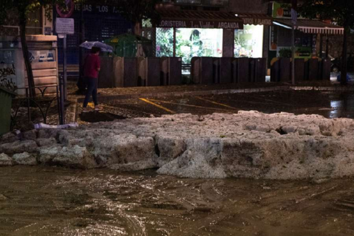 Las tormentas de DANA dejan inundaciones y daños materiales en Madrid y centro de España