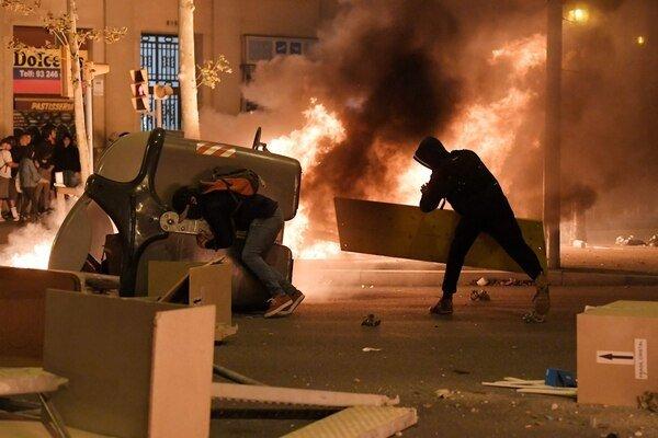 aumenta la violencia en barcelona
