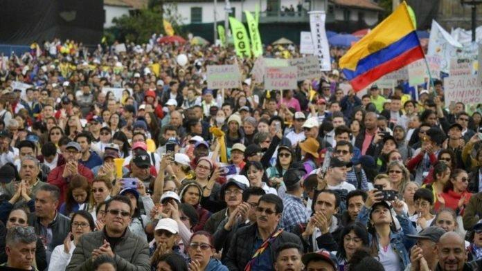 Nuevo paro nacional en Colombia