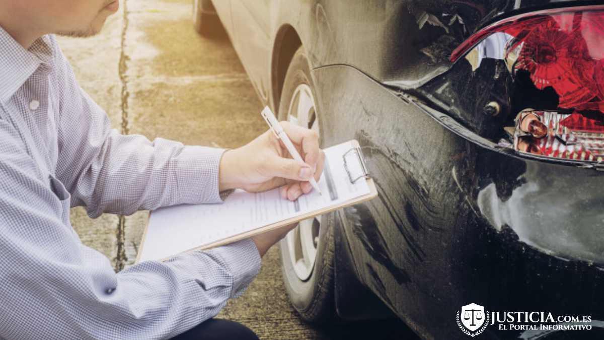 proceso legal accidente de tráfico